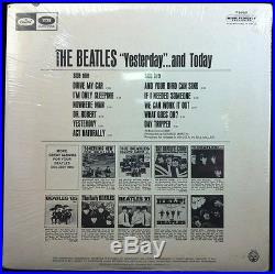 1966 BEATLES BUTCHER COVER YESTERDAY AND TODAY MONO STILL SEALED (2nd State) LP