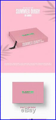 2019 BLACKPINK'S SUMMER DIARY IN HAWAII DVD+P. Book+Card+Sticker+Poster+etc+GIFT