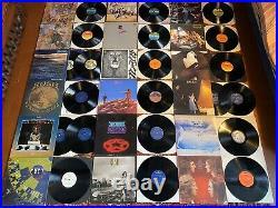 210x LP Record Collection Classic Rock Prog Job Lot Vinyl Pink Floyd The Beatles