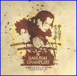 3Lp Samurai Champloo Purple Vinyl Analog Board Nujabes Lo-Fi Hiphop JP NEW