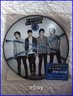 5 Seconds of Summer Self Titled Special Edition Vinyl Record Store Day Release
