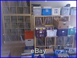 +-5000 Hardcore//Techno/Trance/House Etc. Rare Vinyl Records Collection