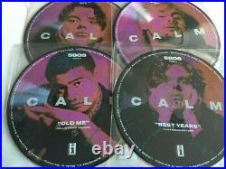5SOS Calm 4 x Vinyl Picture Discs Luke, Calum, Michael & Ashton Seconds Summer