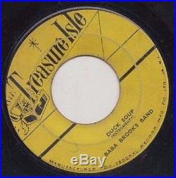 65 Treasure Isle Ska 45 Zodiacs Renegade/baba Brooks Duck Soup