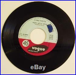7 Johnny Hallyday Laisse Les Filles /Depuis Qu'ma Môme Vogue 1961 sehr rar