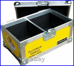 7200 BTTF Record Vinyl Box Back To The Future Flight Case Storage Movie Prop