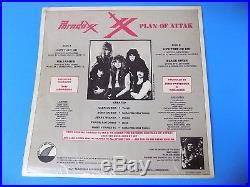 85 Ultra RARE 12 LP Plan Of Attak PARADOXX Chicago Metal insert Silver Fin mp3