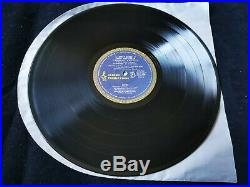 AC/DC Dirty Deeds Vinyl LP Record Aussie Alberts Blue Roo 1st Press with Flyer OOP