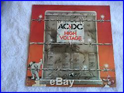 AC/DC High Voltage Blue Roo First Pressing