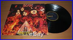 AC/DC Highway to Hell Australian 1st Issue LP Vinyl Record Alberts Bue Label OOP