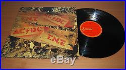 AC/DC T. N. T. New Zealand 1975 First Pressing LP Vinyl Record Alberts OOP MINT