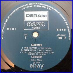 Aardvark Rare Original Album Deram Nova Dn17 Mono 1970 Debut Prog / Psych Home