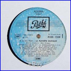 Alain Goraguer La Planete Sauvage OST Rare Jazz Funk Psych LP Pathe France
