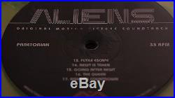 Aliens OST Liquid Filled MONDO Vinyl record 2xLP Sold Out /75 XENOMORPH LV-426