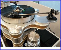 Amari LP62S Vinyl Record Player Maglev Phonograph Tonearm Stylus Disc Stabilizer