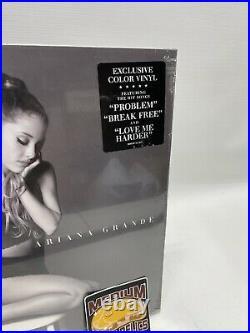Ariana Grande My Everything Lavender Clear Split Vinyl Exclusive Purple Sealed