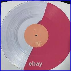Ariana Grande thank u next HALF CLEAR / PINK Colored Vinyl