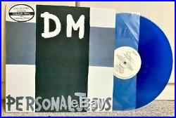 (Australia) Depeche Mode Personal Jesus blue wax 12 Vinyl / Liberation