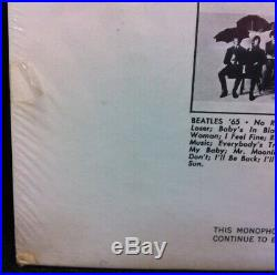 BEATLES 1966 STILL SEALED MONO FIRST STATE BUTCHER COVER LP GORGEOUS! Free FedEx