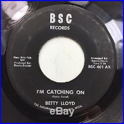 BETTY LLOYD I'm Catching On BSC Detroit Northern Soul 45 HEAR