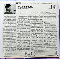 BOB DYLAN FIRST LP CS 8579 ORIGINAL 1960's FACTORY SEALED MINT