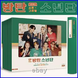 BTS 2021 SEASONS GREETINGS DVD+Calendar+Diary+Photo Book+Poster+Card+etc+GIFT