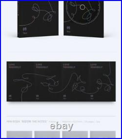 BTS LOVE YOURSELF TEAR 3rd Album 4Ver SET 4CD+8Book+4Card+4Photo+GIFT SEALED