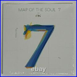 BTS Map Of the Soul 7 On 7 Inch Vinyl Limited Black 7 Record