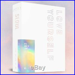 BTS WORLD TOUR LOVE YOURSELF SEOUL BLU-RAY 3DISC+2PhotoBook+Card+Pre-Order+2GIFT