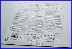 Bach / Mozart Violin Concertos Gioconda De Vito HMV ASD 429 ED1 LP