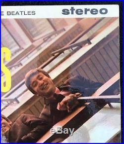 Beatles Please Please Me Stereo Gold And Black 1st Press Dick James Credits
