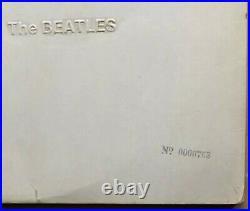 Beatles White Album 1968 Uk Apple Mono Vinyl Lp Pmc 7067/8 Very Low No 0000763