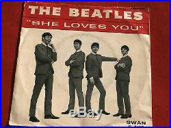 Beatlesshe Loves Youi'll Get Youswan 4152rare Find Pop 45