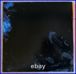 Billie Eilish Live Third Man Records Black and Blue Vinyl LP Paint Splatter