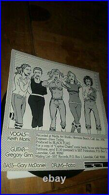 Black Flag Nervous Breakdown Misfits Punk Hardcore Sst 1 Original 1978 Great