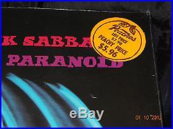 Black Sabbath PARANOID SEALED USA 1ST PRESS 1970 GATEFOLD LP With HYPE STICKER