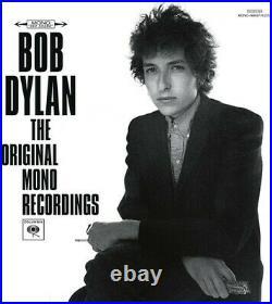Bob Dylan The Original Mono Recordings New Vinyl LP Oversize Item Spilt, 180