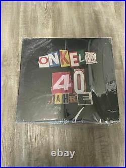 Böhse Onkelz 40 Jahre Die Vinyl Komplettbox NEU OVP