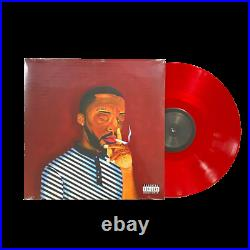 Brent Faiyaz AM Paradox Exclusive Limited Edition Red Colored Vinyl LP