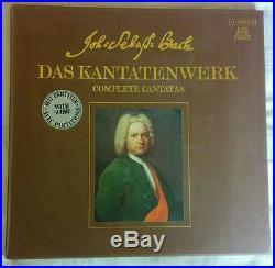 Complete 45 Volume Vinyl Set Of Bach Das Kantatenwerk