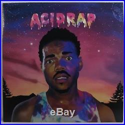 Chance The Rapper Acid Rap 2lp Limited Edition Purple Color Wax
