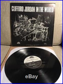 Clifford Jordan In The World Spiritual Jazz LP Strata-East US Original EX Vinyl