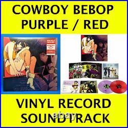 Cowboy Bebop Vinyl Record Soundtrack 2 LP Swordfish II Red Tail Seatbelts Anime