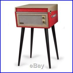 Crosley Bermuda Dansette Retro Vinyl Record Player Turntable Red