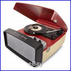 Crosley Collegiate Retro Vinyl Record Player Turntable Red