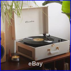 Crosley X UO AV Portable USB Vinyl Record Player CR6249U-UW1 Cream Rose Gold