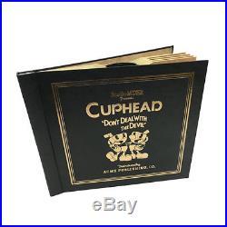 Cuphead 4LP Vinyl Soundtrack Record Box Set Mugman Black Gold Style Studio MDHR
