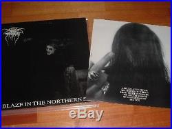 DARKTHRONE LP A Blaze In The Northern Sky 1ST PRESS Peaceville Records 1992