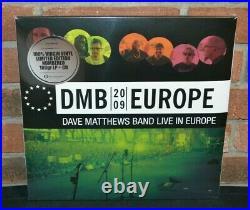 DAVE MATTHEWS BAND Europe 2009 Live, Ltd Import 5LP BLACK VINYL + 3 CD #'d Set