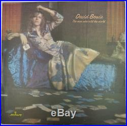 DAVID BOWIE Mint UK 1st PRESS Dress Cover THE MAN WHO SOLD THE WORLD Mercury LP
